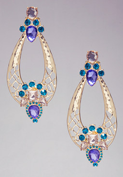 bebe Jewel Statement Earrings