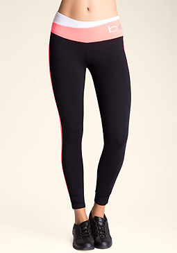 bebe Petite Colorblock Leggings