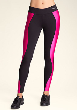 bebe Colorblock Mesh Leggings