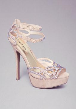 bebe Zo� Evening Sandals