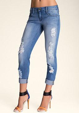 bebe Mackenzie Skinny Jeans