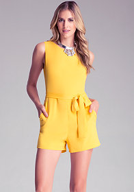 bebe Kelly Zip Back Romper����