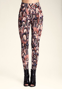 bebe Printed Atlas Leggings