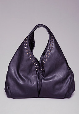 Shanti Stud Hobo Purse at bebe