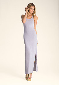 bebe Heather Jersey Tank Dress