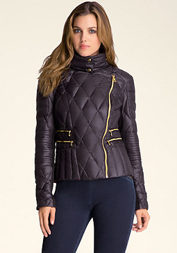 bebe Packable Quilted Jacket