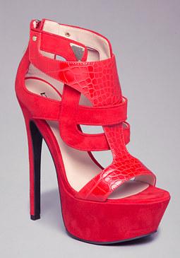 bebe Allison Platform Sandals