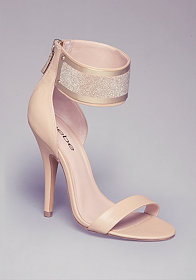 ARRIYA ANKLE CUFF SANDALS at bebe