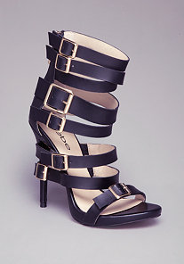 CASSIE MULTI-BUCKLE SANDALS at bebe