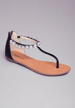 Cortny Ankle Strap Flats at bebe