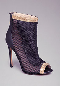 TANYA MESH SHOOTIES at bebe