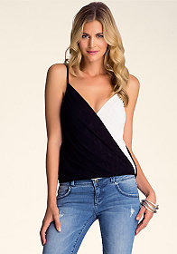 Sexy Surplice Cami at bebe