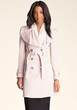 bebe Hannah Trench Coat