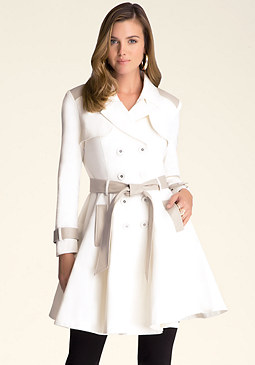bebe Grace Trench Coat
