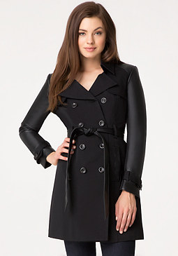 bebe Zoey Trench Coat