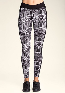 bebe Wild One Logo Leggings