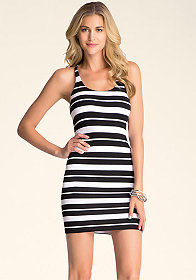 bebe Racerback Twist Dress