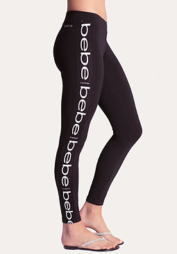 bebe Logo Leggings