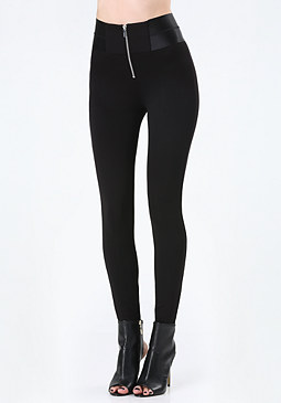 bebe High-Waist Sailor Leggings