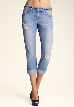 Slim Boyfriend Jeans at bebe
