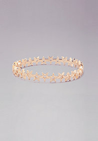 bebe Star Covered Bangle Set