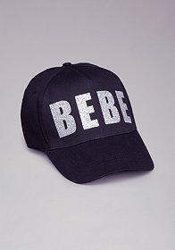 bebe Logo Blocked Baseball Cap