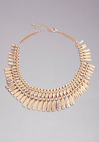 bebe Twisted Statement Necklace