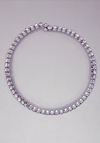 bebe Rhinestone Necklace