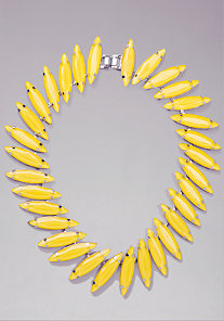 Oval Statement Necklace at bebe
