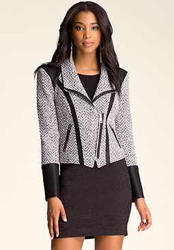 bebe Hayley Tweed Jacket