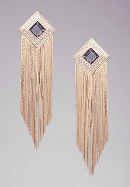 bebe Diamond Duster Earrings