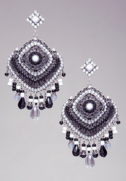 bebe Beaded Earrings