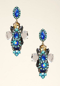 bebe Vintage Dramatic Earrings