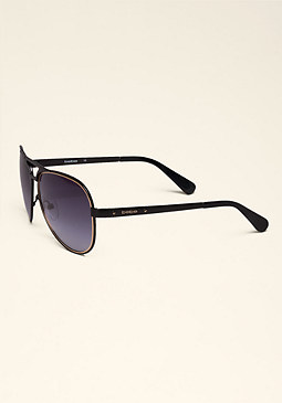 bebe Daisy Aviator Sunglasses