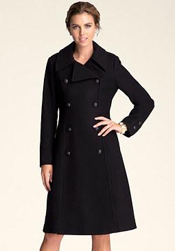bebe Wool Maxi Coat