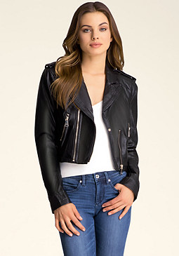 Kelly Moto Jacket at bebe