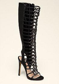 bebe Sahar High Shaft Sandals