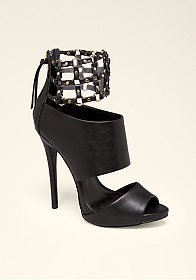 bebe Abbee Knotted Cuff Sandals