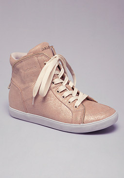 bebe Kameron High Top Sneakers