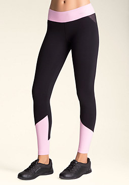 bebe Colorblock Capri Leggings