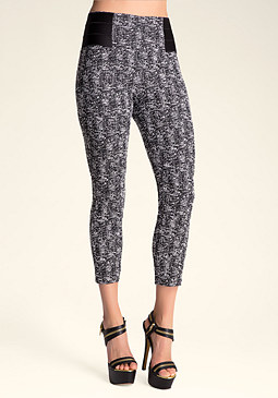 bebe Chloe Crop Pants