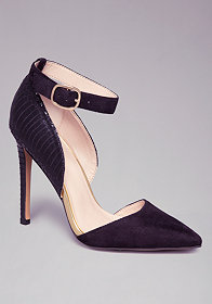 Lizbeth Pointy Toe Pumps at bebe