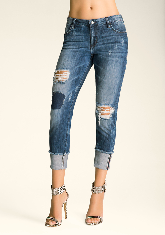 destroyed-boyfriend-jeans by bebe
