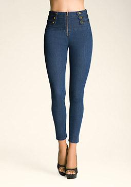bebe Schiffer Skinny Jeans
