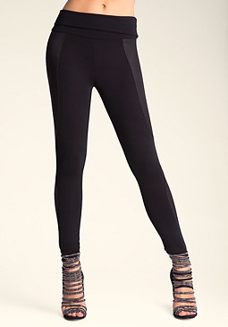 bebe Foldover Leggings