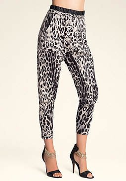 bebe Bellows Pocket Pants