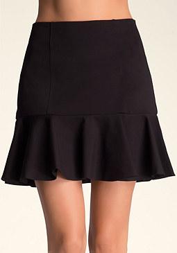 Zo� Flounce Skirt at bebe