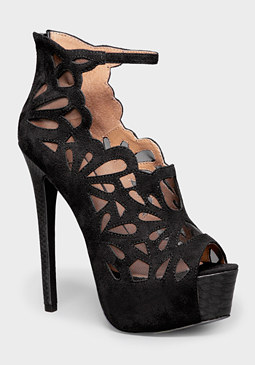 Gabrielle Lattice Pumps at bebe