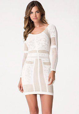 bebe Harper Lace Dress