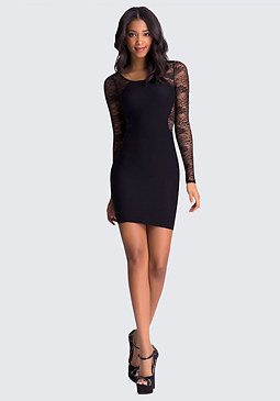 bebe Jana Lace Dress